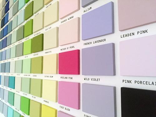 Strichlack Farben Auswahl